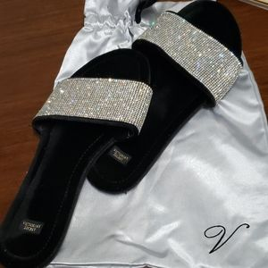 Victoria Secret Bling Slippers